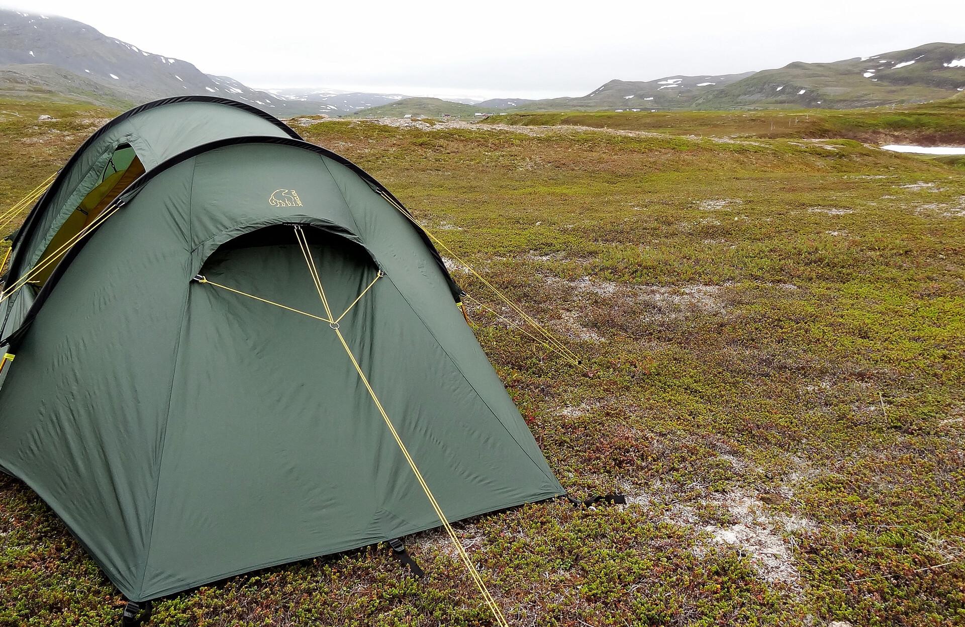 Nordisk Oppland 2 SI Tent forest green | Gode tilbud hos
